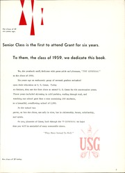 Page 7, 1959 Edition, U S Grant High School - General Yearbook (Oklahoma City, OK) online yearbook collection