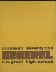 U S Grant High School - General Yearbook (Oklahoma City, OK) online yearbook collection, 1971 Edition, Page 1