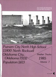Page 3, 1985 Edition, Putnam City North High School - Panther Tracks Yearbook (Oklahoma City, OK) online yearbook collection