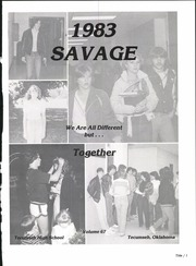 Page 5, 1983 Edition, Tecumseh High School - Savage Yearbook (Tecumseh, OK) online yearbook collection