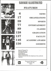 Page 7, 1987 Edition, Tecumseh High School - Savage Yearbook (Tecumseh, OK) online yearbook collection