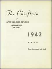 Page 5, 1942 Edition, Capitol Hill High School - Chieftain Yearbook (Oklahoma City, OK) online yearbook collection