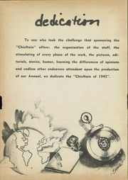 Page 6, 1945 Edition, Capitol Hill High School - Chieftain Yearbook (Oklahoma City, OK) online yearbook collection