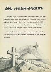 Page 9, 1945 Edition, Capitol Hill High School - Chieftain Yearbook (Oklahoma City, OK) online yearbook collection