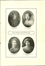 Page 15, 1914 Edition, Enid High School - Quill Yearbook (Enid, OK) online yearbook collection