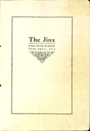 Page 3, 1914 Edition, Enid High School - Quill Yearbook (Enid, OK) online yearbook collection