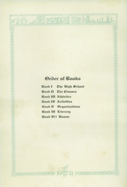 Page 12, 1921 Edition, Enid High School - Quill Yearbook (Enid, OK) online yearbook collection