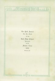 Page 7, 1921 Edition, Enid High School - Quill Yearbook (Enid, OK) online yearbook collection