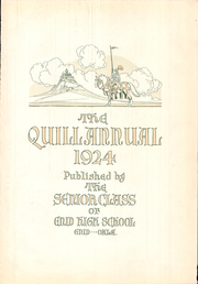 Page 7, 1924 Edition, Enid High School - Quill Yearbook (Enid, OK) online yearbook collection