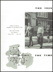 Page 8, 1959 Edition, Enid High School - Quill Yearbook (Enid, OK) online yearbook collection
