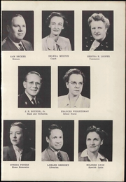 Page 13, 1948 Edition, Midwest City High School - Bomber Yearbook (Midwest City, OK) online yearbook collection