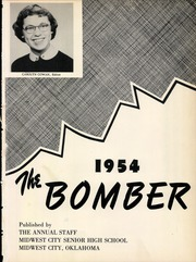 Page 5, 1954 Edition, Midwest City High School - Bomber Yearbook (Midwest City, OK) online yearbook collection