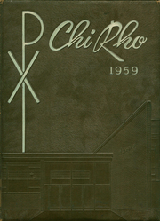 1959 Edition, Bishop McGuinness High School - Chi Rho Yearbook (Oklahoma City, OK)