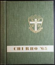 1965 Edition, Bishop McGuinness High School - Chi Rho Yearbook (Oklahoma City, OK)