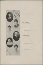 Page 17, 1916 Edition, McAlester High School - Dancing Rabbit Yearbook (McAlester, OK) online yearbook collection