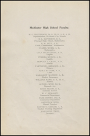 Page 16, 1918 Edition, McAlester High School - Dancing Rabbit Yearbook (McAlester, OK) online yearbook collection