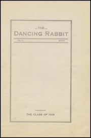 Page 5, 1919 Edition, McAlester High School - Dancing Rabbit Yearbook (McAlester, OK) online yearbook collection