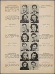 Page 15, 1949 Edition, McAlester High School - Dancing Rabbit Yearbook (McAlester, OK) online yearbook collection