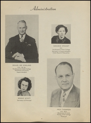 Page 8, 1949 Edition, McAlester High School - Dancing Rabbit Yearbook (McAlester, OK) online yearbook collection
