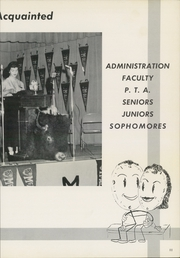 Page 15, 1957 Edition, McAlester High School - Dancing Rabbit Yearbook (McAlester, OK) online yearbook collection