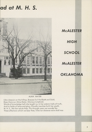 Page 7, 1957 Edition, McAlester High School - Dancing Rabbit Yearbook (McAlester, OK) online yearbook collection
