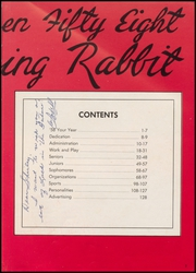 Page 7, 1958 Edition, McAlester High School - Dancing Rabbit Yearbook (McAlester, OK) online yearbook collection