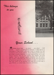 Page 8, 1958 Edition, McAlester High School - Dancing Rabbit Yearbook (McAlester, OK) online yearbook collection