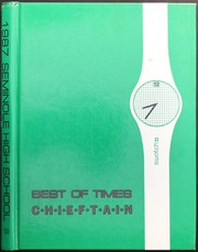 1987 Edition, Seminole High School - Chieftain Yearbook (Seminole, OK)
