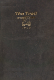 Page 1, 1920 Edition, Norman High School - Trail Yearbook (Norman, OK) online yearbook collection