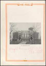 Page 10, 1920 Edition, Norman High School - Trail Yearbook (Norman, OK) online yearbook collection