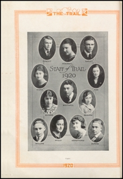 Page 12, 1920 Edition, Norman High School - Trail Yearbook (Norman, OK) online yearbook collection