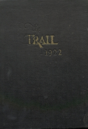 Page 1, 1922 Edition, Norman High School - Trail Yearbook (Norman, OK) online yearbook collection