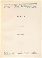 Page 7, 1922 Edition, Norman High School - Trail Yearbook (Norman, OK) online yearbook collection