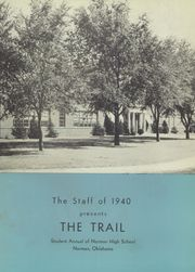 Page 5, 1940 Edition, Norman High School - Trail Yearbook (Norman, OK) online yearbook collection