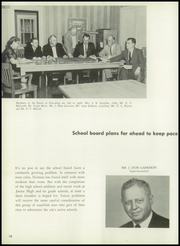 Page 14, 1957 Edition, Norman High School - Trail Yearbook (Norman, OK) online yearbook collection