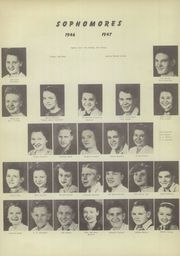 Page 16, 1947 Edition, Choctaw High School - Faces of the Future Yearbook (Choctaw, OK) online yearbook collection