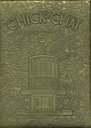 1951 Edition, Chickasha High School - Chick Chat Yearbook (Chickasha, OK)