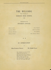 Page 5, 1938 Edition, Edmond Memorial High School - Bulldog Yearbook (Edmond, OK) online yearbook collection