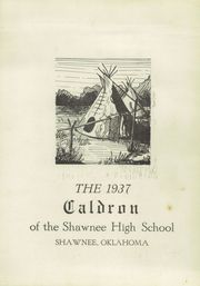Page 5, 1937 Edition, Shawnee High School - Caldron Yearbook (Shawnee, OK) online yearbook collection