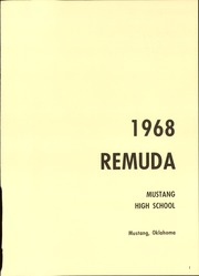 Page 5, 1968 Edition, Mustang High School - Remuda Yearbook (Mustang, OK) online yearbook collection
