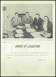 Page 11, 1958 Edition, Owasso High School - Trails End Yearbook (Owasso, OK) online yearbook collection