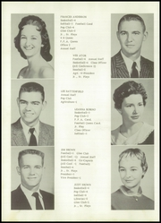 Page 16, 1958 Edition, Owasso High School - Trails End Yearbook (Owasso, OK) online yearbook collection