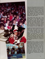 Page 15, 1985 Edition, Owasso High School - Trails End Yearbook (Owasso, OK) online yearbook collection