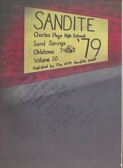 Page 4, 1979 Edition, Charles Page High School - Sandite Yearbook (Sand Springs, OK) online yearbook collection