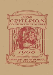 Ardmore High School - Spectrum Yearbook (Ardmore, OK) online yearbook collection, 1908 Edition, Page 1