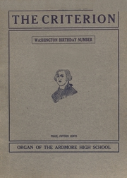 Ardmore High School - Spectrum Yearbook (Ardmore, OK) online yearbook collection, 1909 Edition, Page 1