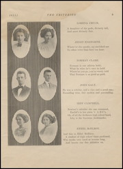 Page 13, 1911 Edition, Ardmore High School - Spectrum Yearbook (Ardmore, OK) online yearbook collection