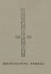 Ardmore High School - Spectrum Yearbook (Ardmore, OK) online yearbook collection, 1915 Edition, Page 1