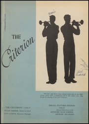 Page 5, 1947 Edition, Ardmore High School - Spectrum Yearbook (Ardmore, OK) online yearbook collection
