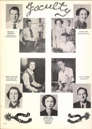 Page 10, 1951 Edition, Ardmore High School - Spectrum Yearbook (Ardmore, OK) online yearbook collection